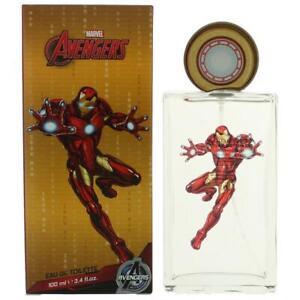 Marvel Iron Man 3.4 oz / 100 mL Eau de Toilette Spray for Kids - New In Box