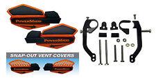 Powermadd Orange/Black Star Handguards & Mount Kit Off-Road Motorcycles & ATV's
