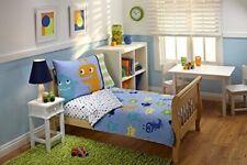 Everything Kids 4 Piece Toddler Bedding Set, Monster