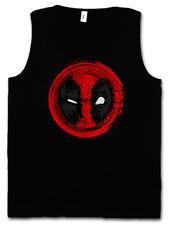 MUTANT MASK II TANK TOP VEST FITNESS Vigilante Skull Logo Symbol Sign Deadpool