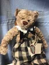 """ Dexter� Yes/No Ganz Cottage Collectibles Bear Plush 18 in With Tags"