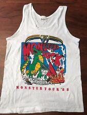 VINTAGE Monsters of Rock 1988 Concert Tank Top M - Metallica Van Halen Scorpions