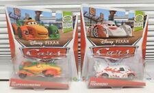 RIP Clutchgoneski & Shu Todoroki 2012 CARS Disney Pixar retired NEW