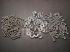 "#8 x 3/4"" & 1"" stainless kick panel door interior trim screws & washers Ford"