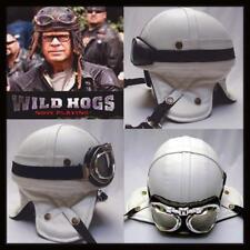 Motorcycle Retro Vintage *WILD HOGS* Helmet + 2 Goggles