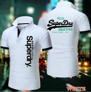 5 Colors New Superdry Mens  Short Sleeve Crew Neck Print T-Shirt  UK 2021