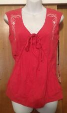 Coral Gentle Fawn Sleeveless Shirt