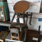 Model X 6x10 Excelsior Kelsey vintage desktop printing press As Found PARTS