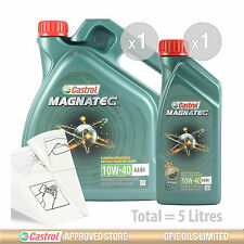 Engine Oil Service Kit: 5 litres of Castrol Magnatec 10w-40