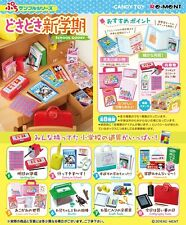 Re-Ment Miniature School Goods Stationery Full set of 8 pcs