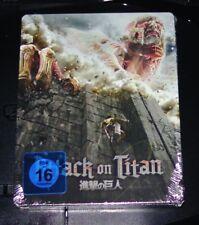 Attack on Titan Film 1 Limited Steelbook Ankur Blu Ray Nip
