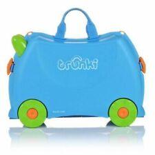 Trunki Terrance Blue Ride On Suitcase