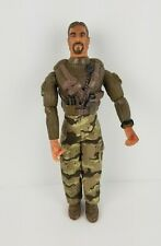 """2003 Lanard Toys Army Military Man 12"""" Tall Jointed Action Figure"""