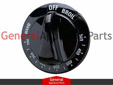 General Electric GE Stove  Range Knob Thermostate (black) WB03K10048