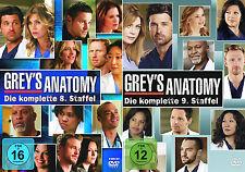 Grey's Anatomy - Die komplette 8. + 9. Staffel Greys)                | DVD | 273