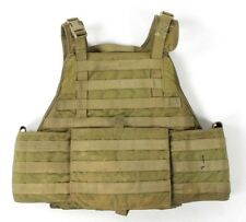 "Eagle Allied Industries MJK Khaki Tan MBAV L/XL Plate Carrier Vest ""D"" SOCOM"