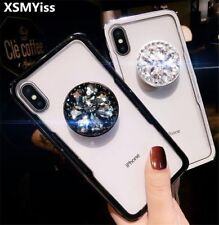 Diamond Rhinestone Holder Stand Bling Case Cover for iPhone 12 Pro Max XS XR 7 8
