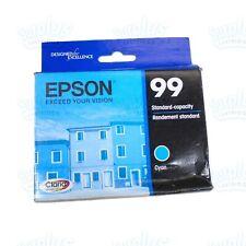 2022 Genuine Epson 99 Cyan Artisan 837 835 810 730 725 710 700(Retail Box)