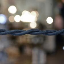 Soldier Blue Twisted Wire Lamp Cord Pendant Light-Steampunk Lamp Retro Cord