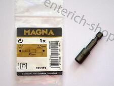 MAGNA BOSCH Steckschlüssel 5,5mm x 45mm / Sechskant / magnetisch / 232222