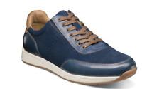 Florsheim Fusion Moc Toe Lace Up Sneaker Blue Leather 14215-400