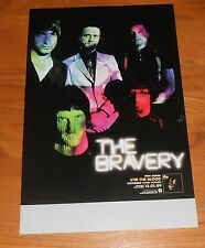 The Bravery Stir The Blood Poster Original Promo 17x11