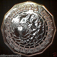 "2006 QUEEN ELIZABETH II "" ROYAL VISIT TO AUSTRALIA""  50cent Specimen Coin:UNC"