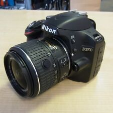 Used Nikon D3200 DSLR with 18-55VR II (26,361 actuations) - 1 YEAR GTEE
