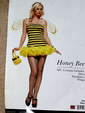 NEW nwt ADULT sexy LEG AVENUE bumble QUEEN honey BEE bug halloween PARTY costume
