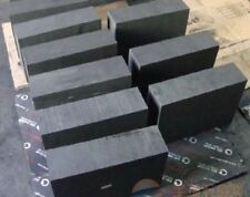 High Purity 99.9% Graphite Ingot Block 50mm * 50mm * 10mm