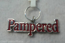 x Pampered Puppy Kitty My Pet cat dog pooch Dog Engraveable Charm Tag Jewelry