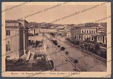 MESSINA CITTÀ 147 PALAZZO GIUSTIZIA TRIBUNALE UNIVERSITÀ Cartolina FOTOGR. 1943