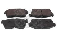 Bremsbelagsatz, Scheibenbremse für Bremsanlage Vorderachse MAPCO 6761