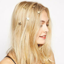 Stars Coil Spring Clips Hairpin Hair Jewelry For Woman Girl Head Tiara Wedding