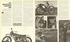 1971 Montesa Cappra MX 125 Impression 2-Page Vintage Motorcycle Article