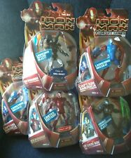 Iron Man Action Figure Lot - Replusor Red Prototype, War Machine, CaptainAmerica