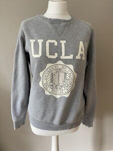UCLA Sweater Jumper USA College Merch Grey Unisex M