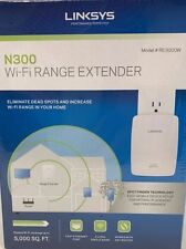 Linksys - RE3000W - IEEE 802.11n 300 Mbps Wireless Range Extender