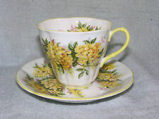 Royal Albert LABURNUM Blossom Time Series Cup & Saucer Set