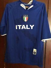 Drako Italy Italia Futbol Soccer Blue Jersey Men One Size Fits Med to Large