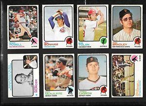 1973 OPC O PEE CHEE MLB BASEBALL CARD ERROR & VARIATION 265-396 SEE LIST
