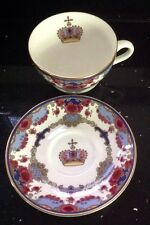 ROYAL DOULTON CANADIAN PACIFIC HOTELS COMMEMORATIVE CHINA CUP & SAUCER