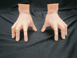 Addams Family Thing Prop Model Pair of Medium Size Hands (Left/Right)