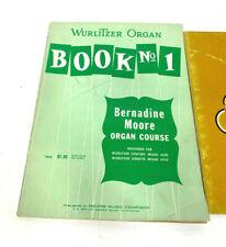 Wurlitzer Organ Book No : 1 & Wurlitzer 127 Home Entertainment Organ Course