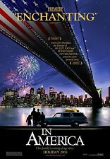 In America Original Double-Sided Advance Rolled Movie Poster 27x40 NEW 2002