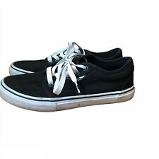 New listing Adio Grip Men's Size 8 Skateboarding Shoe Black Upper White Sole
