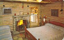 RUMNEY, NH  New Hampshire  HAWTHORNE LODGE Interior GRAFTON CO  c1950's Postcard