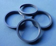 (1009) 4 Stück  Zentrierringe  65,0 / 56,6 mm grau für Alufelgen