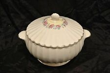 Limoges Vanity Fair Bowl with Lid w/ Roses & 22k Gold Trim