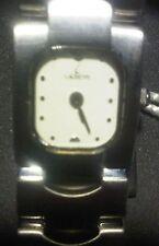 Original Laurens lady's watch Quartz 17mm Bracelet Dress S.S. band NEW !